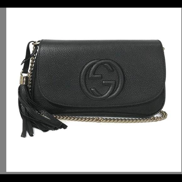 Gucci Handbags - Gucci Soho Shoulder Bag